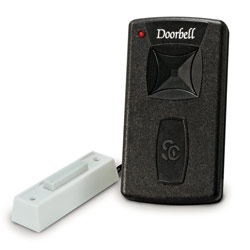 Legacy Silent Call Doorbell Transmitter w-Button