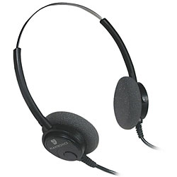 Dual Channel Transcribers Headset