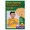 Basic Signing Vocabulary Cards - Set A -100 Cards
