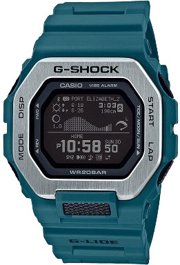 Casio Vibration G-Shock w MIP and Bluetooth (Teal)