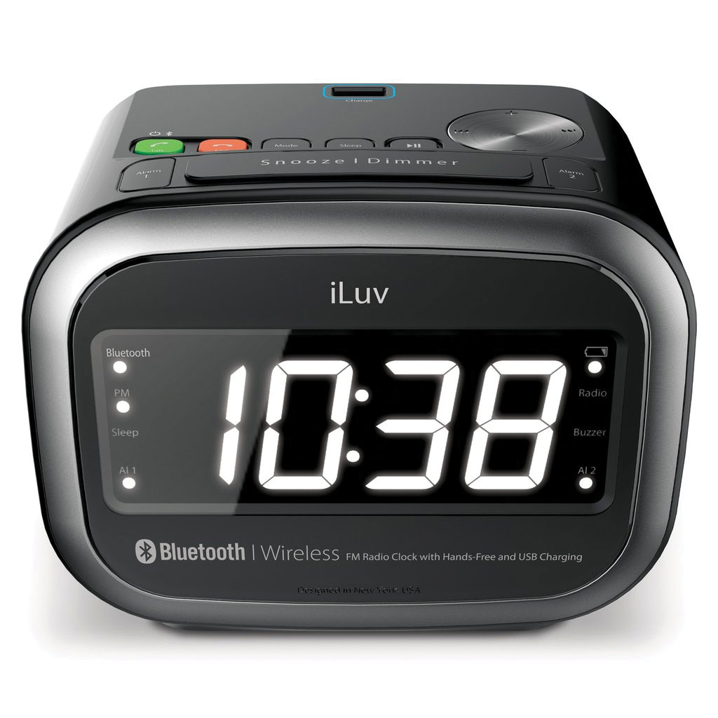 Morning Call 2 Dual Alarm Clock FM Radio with Bluetooth Speaker