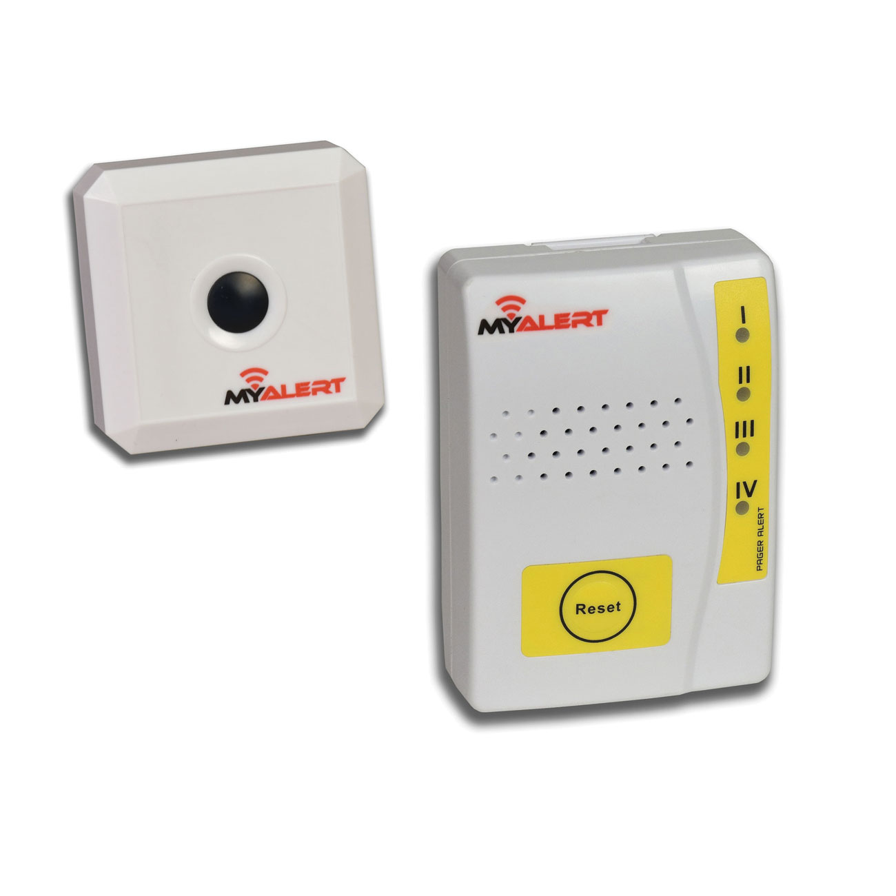 MyAlert Wireless Transmitter with Body-Worn Multi-Function Receiver