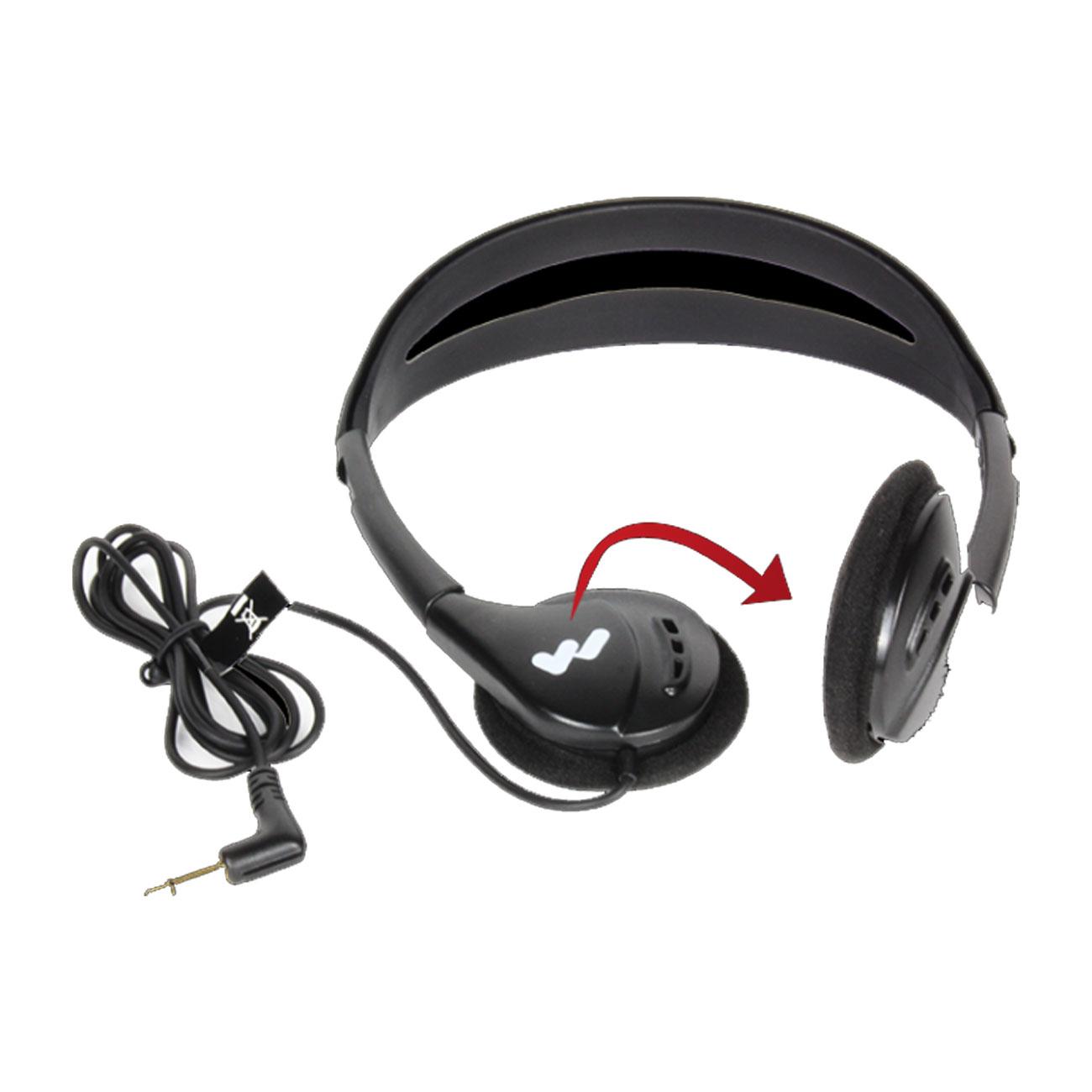 Deluxe Folding Headphone - -Adult