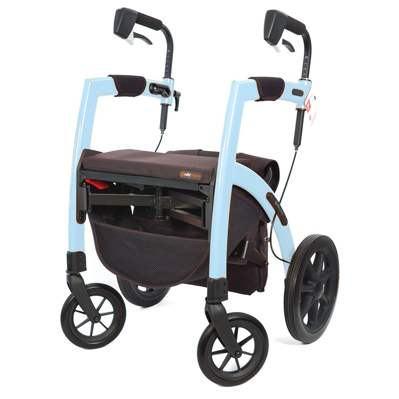 Rollz Motion Rollator - Ice Blue