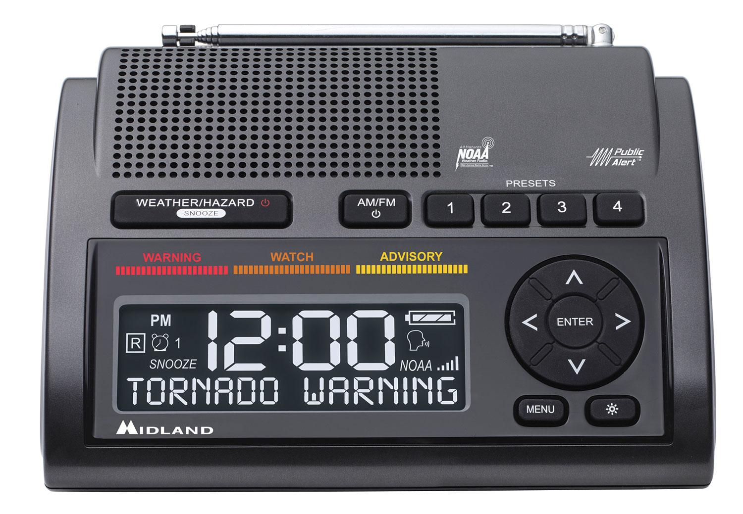 The WR400 Deluxe NOAA Weather Alert Radio