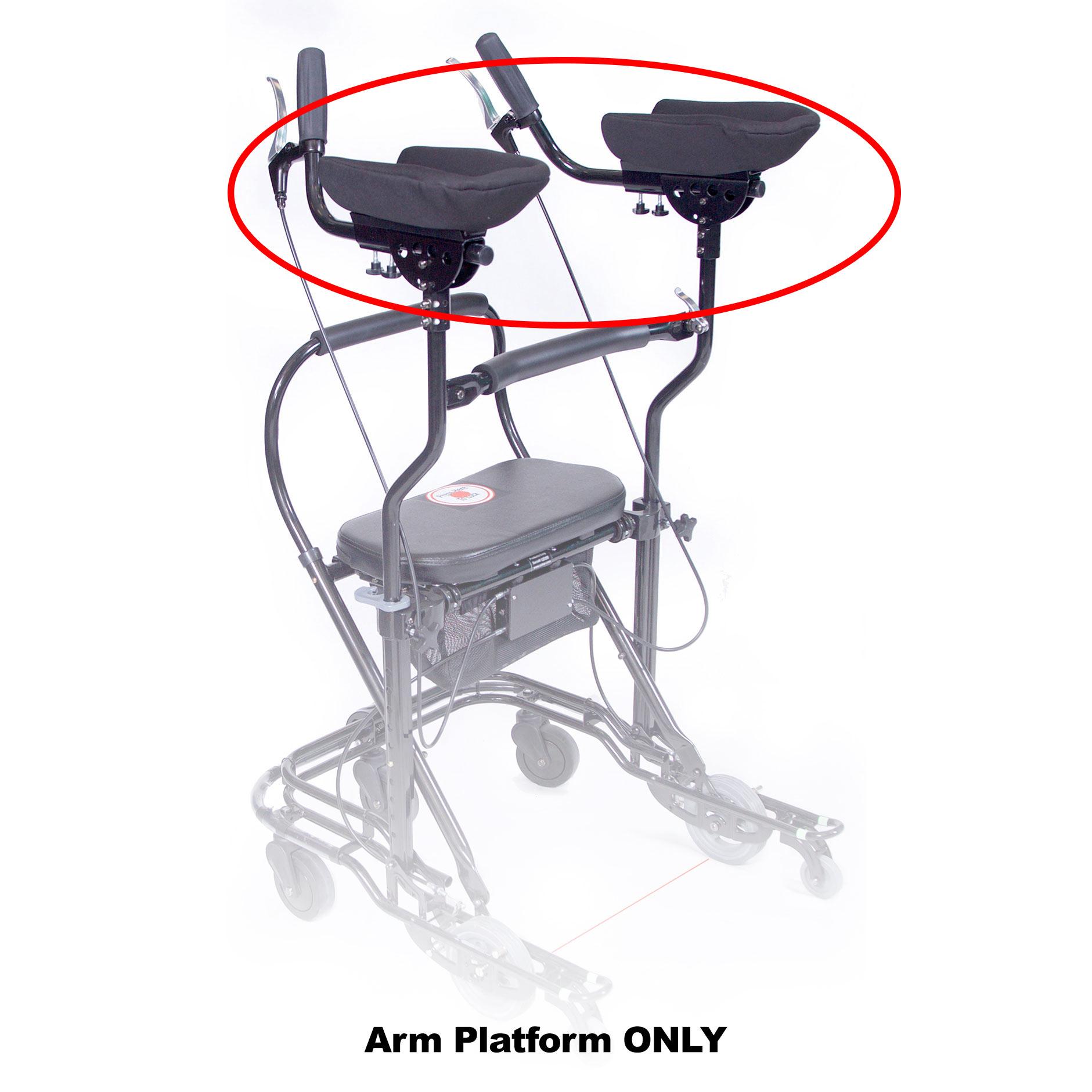 Arm Platforms for U-Step Walker