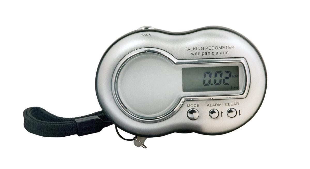 Talking Pedometer with Panic Alarm