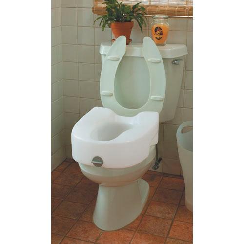 Lock-on Toilet Seat
