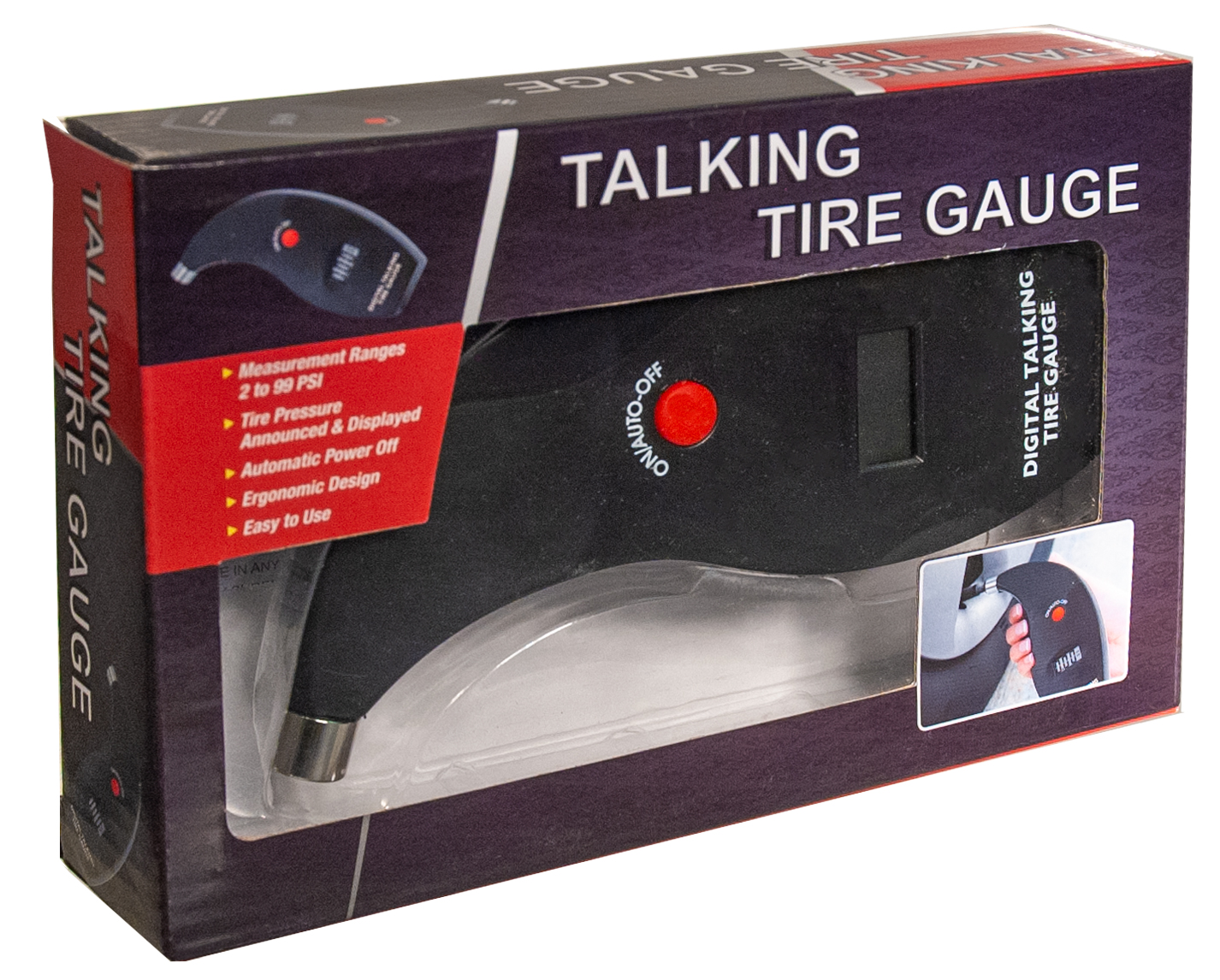 Talking Digital Tire Gauge