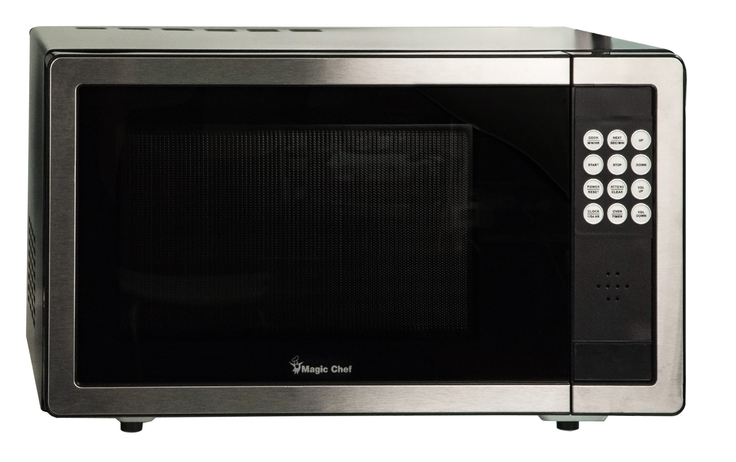 Talking Microwave Oven - Stainless Steel