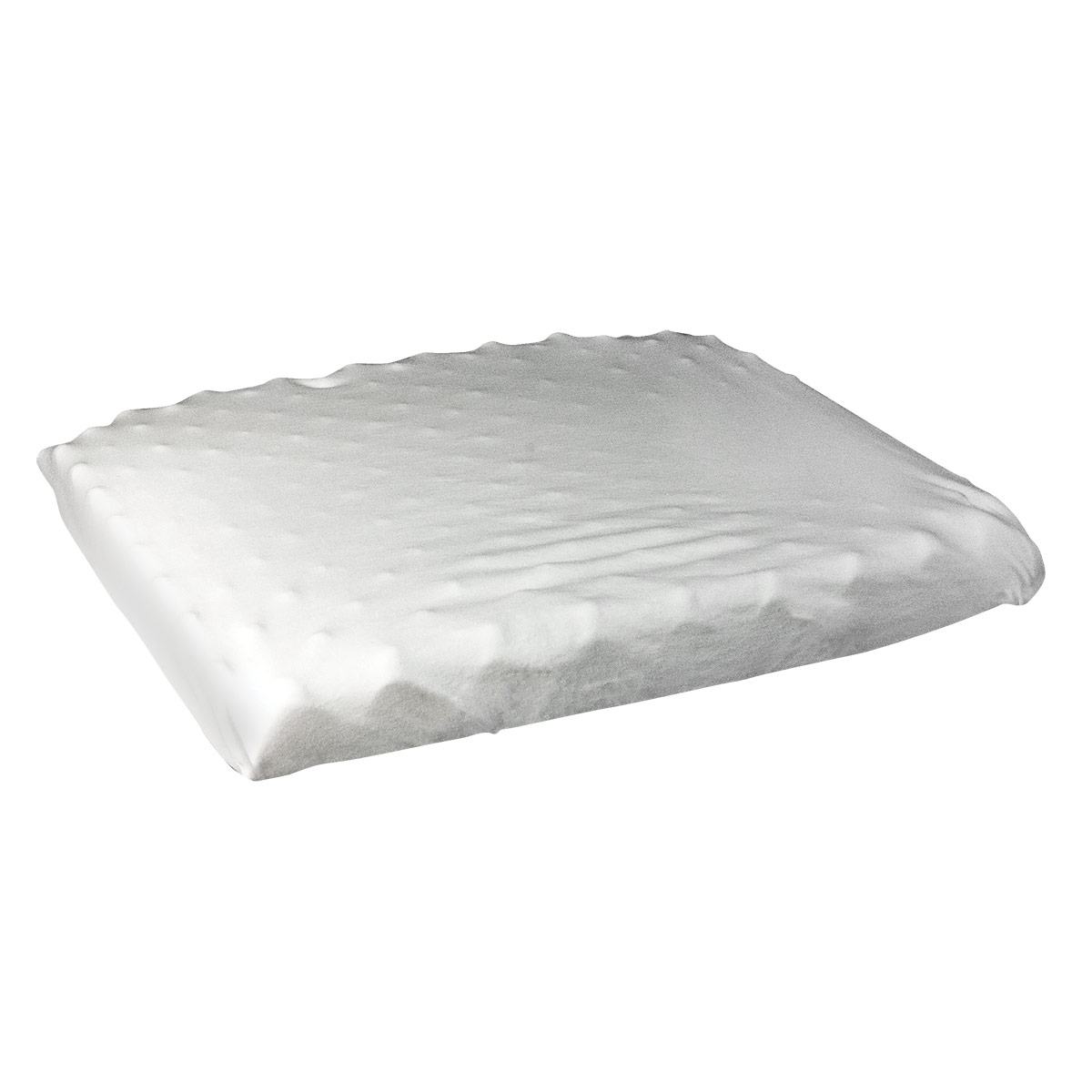 Eggcrate Seat Cushion with Poly-Cotton Cover