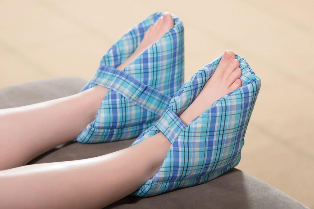 CarePillow Foot Protector Pillows - Plaid