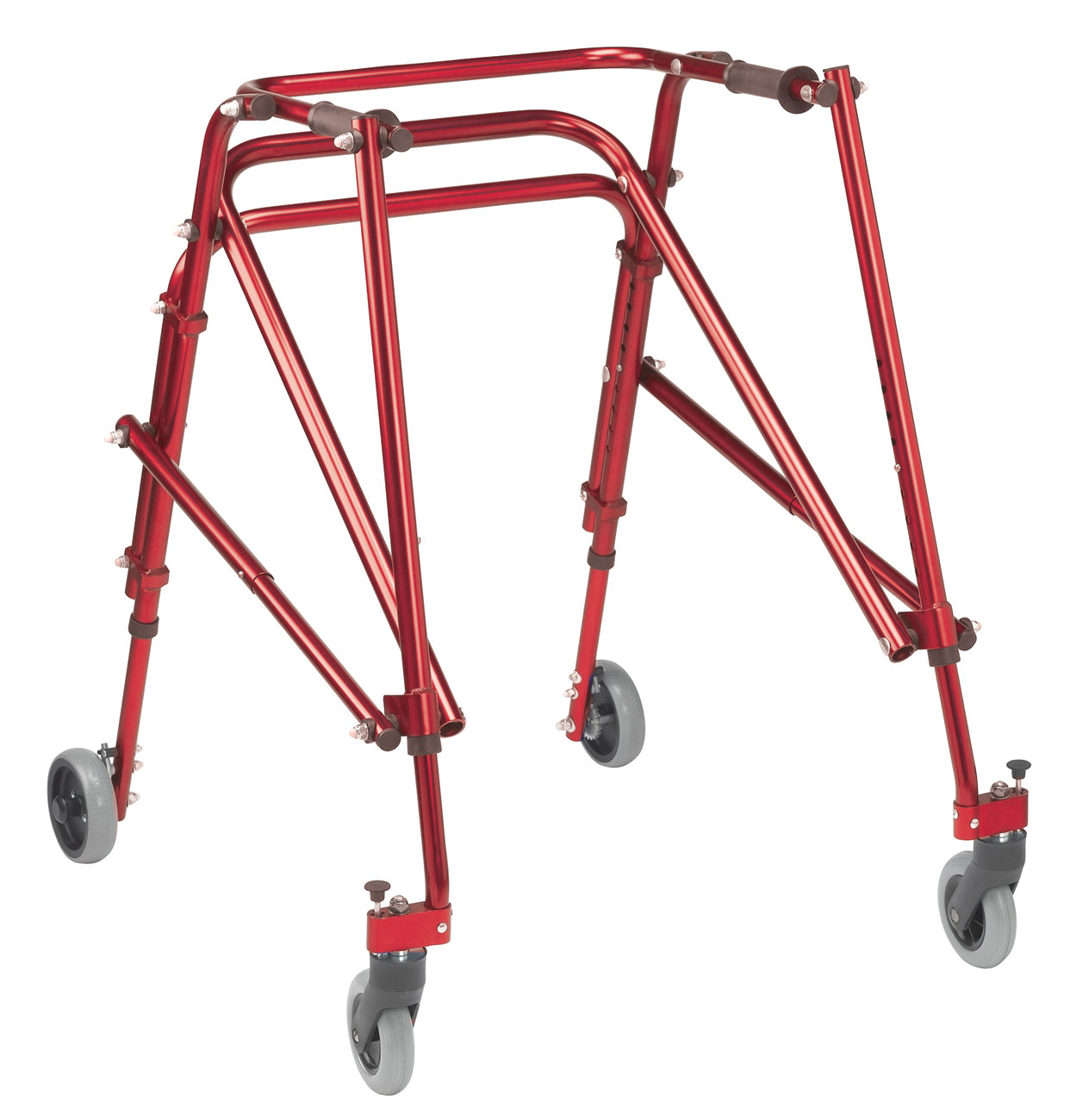 Drive Nimbo Posterior Walker- Large- Red