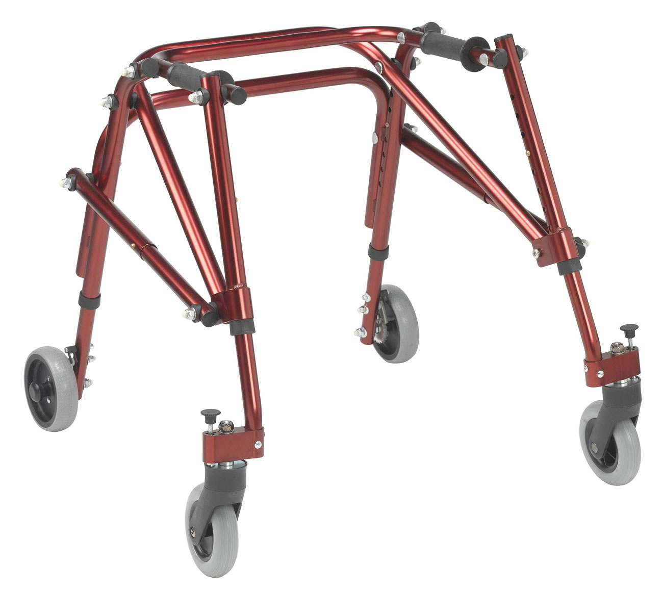 Drive Nimbo Posterior Walker- Small- Red