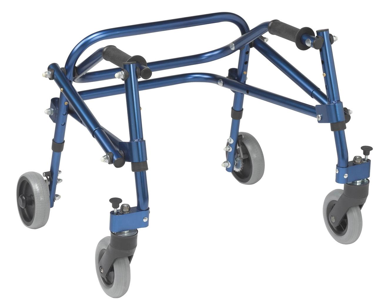 Drive Nimbo Posterior Walker - Extra Small - Blue