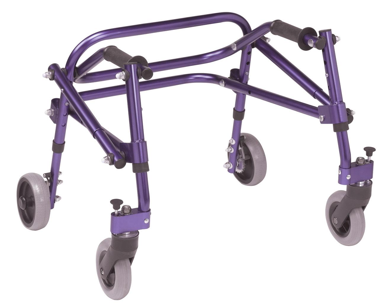 Drive Nimbo Posterior Walker - Extra Small - Purple