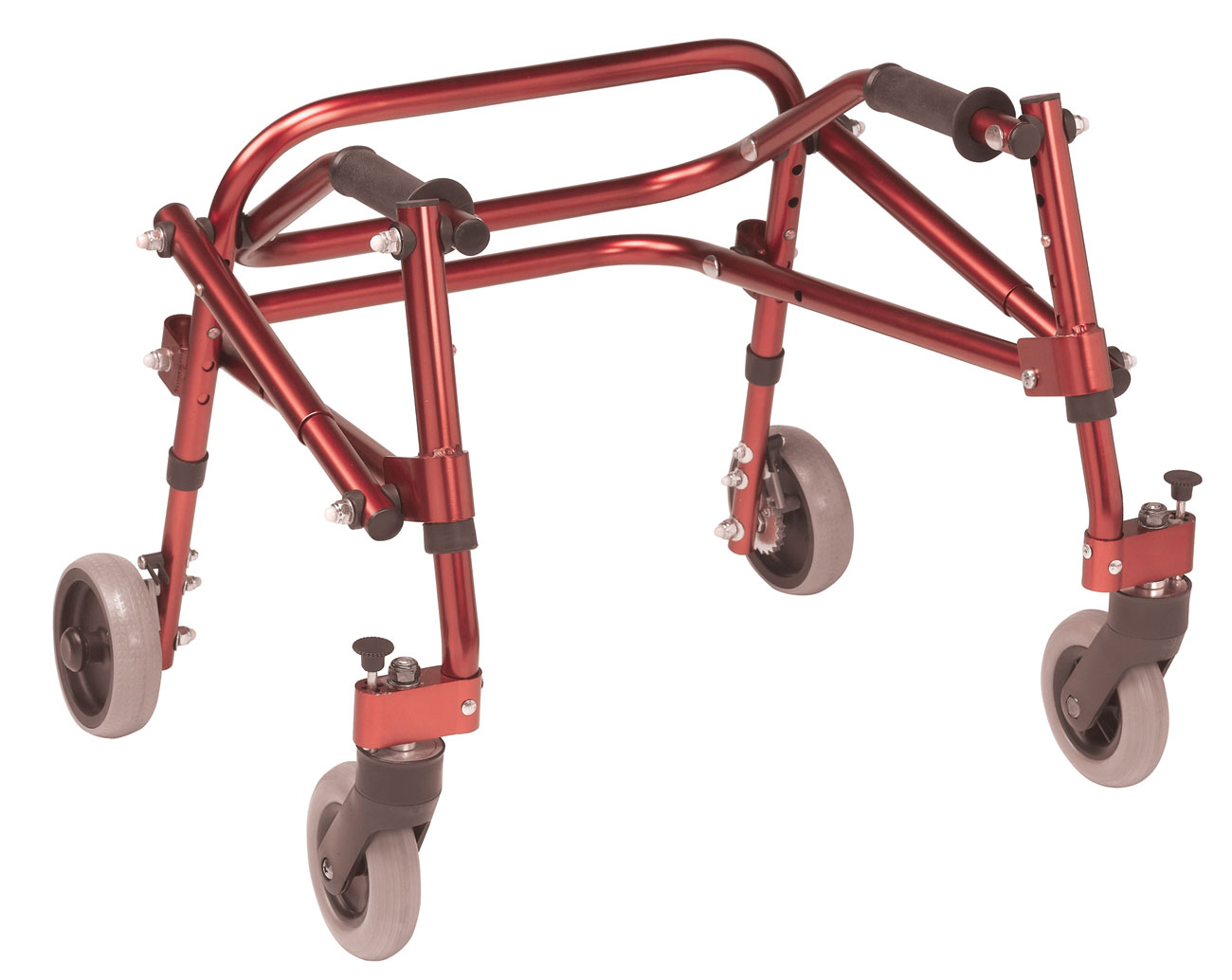 Drive Nimbo Posterior Walker- Extra Small- Red