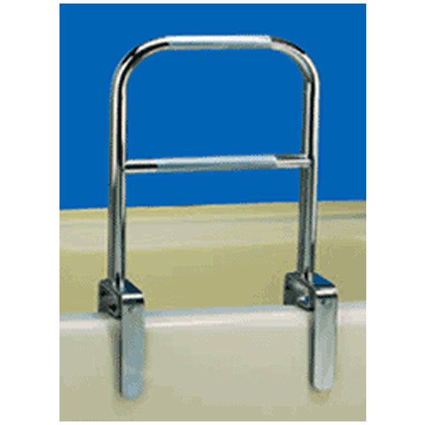 Dual Level Bathtub Safety Rail- Chrome Finish