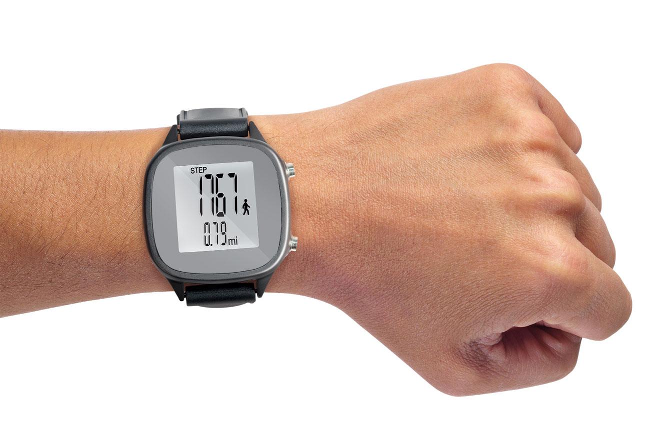 North American Large Digit Pedometer Wrist Watch