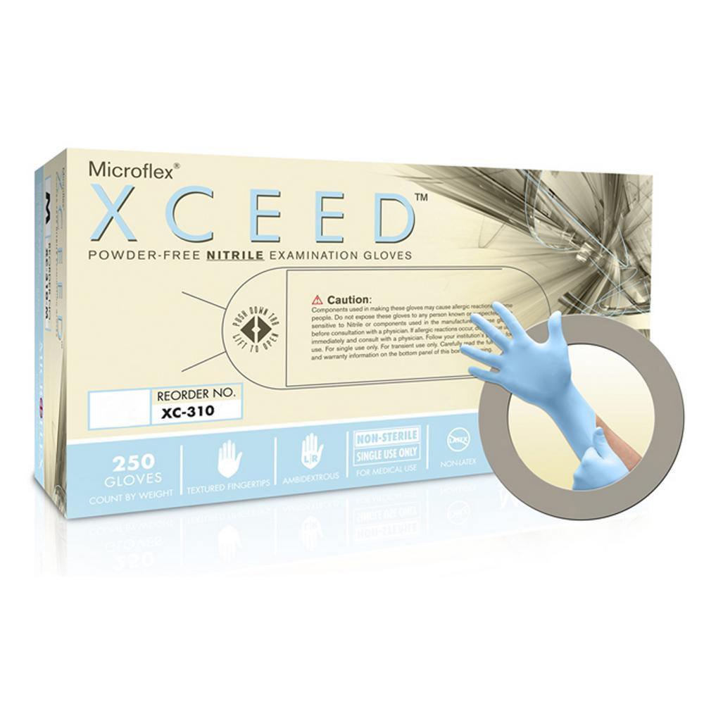 Powder-Free Nitrile Examination Gloves - X-Large