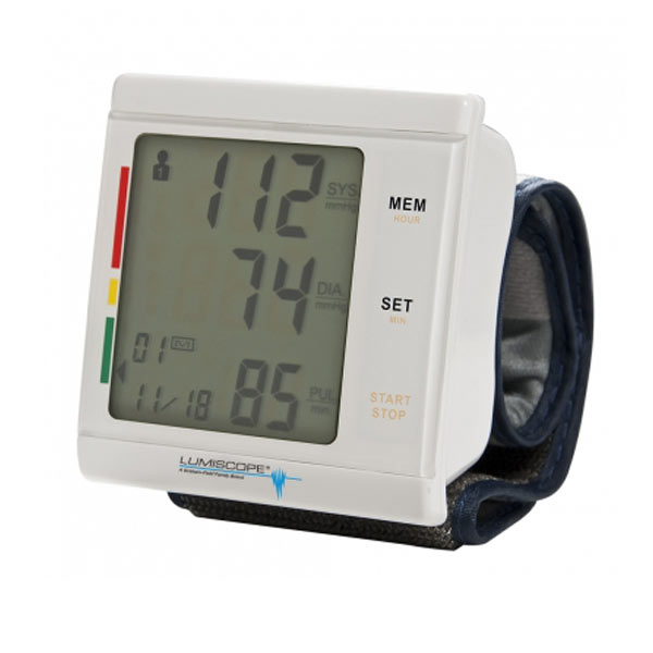Lumiscope Talking Wrist Blood Pressure Monitor - English-Spanish