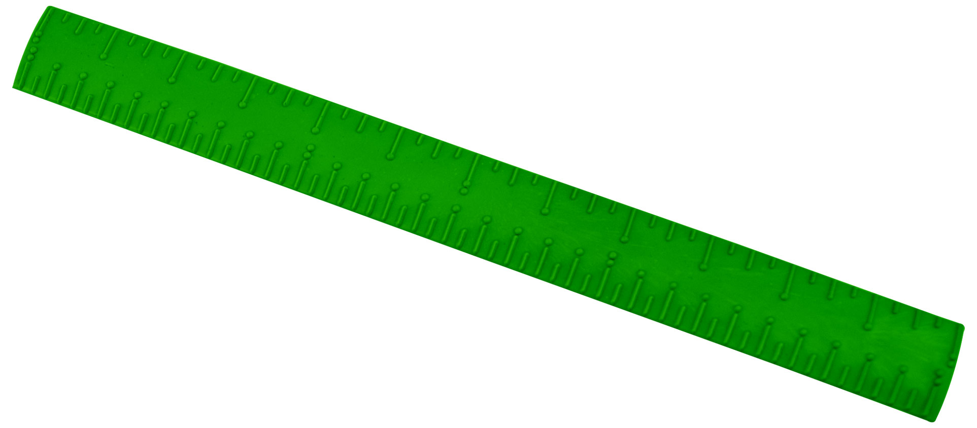 Braille Ruler - Plastic - 12-inch
