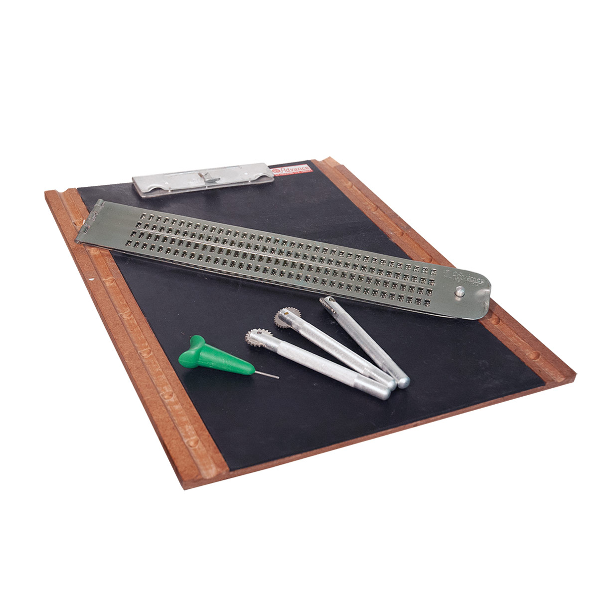 Braille Writing and Figure Slate with Spur Wheel Set