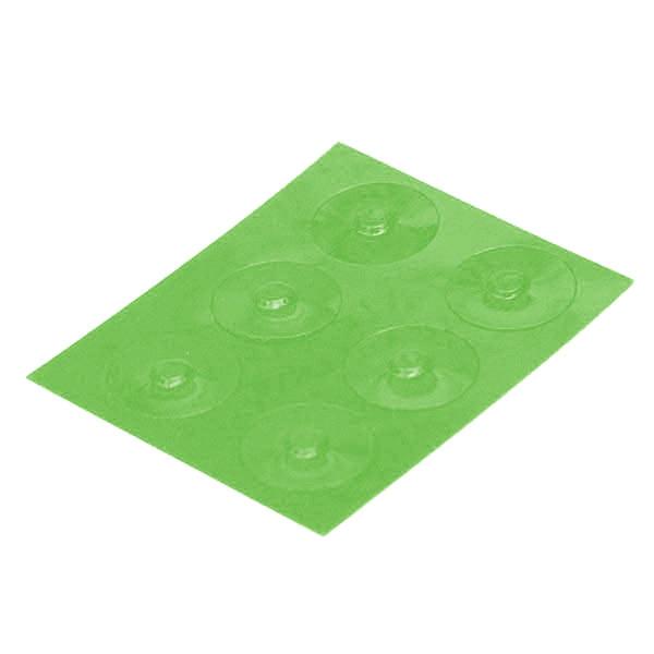 Color-Dots Tactile Key Locators - Green