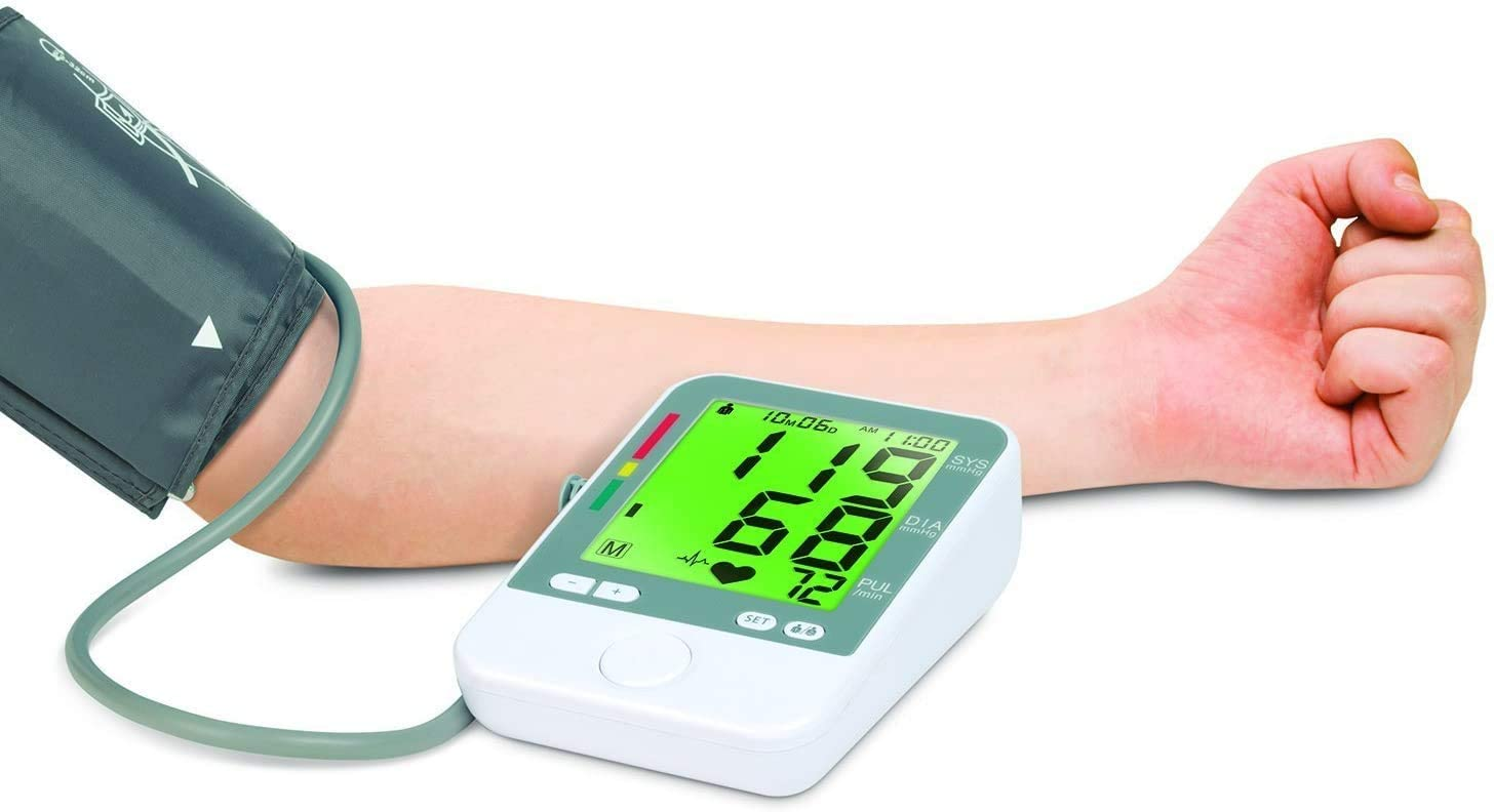 Blood Pressure Monitor- Color Coded