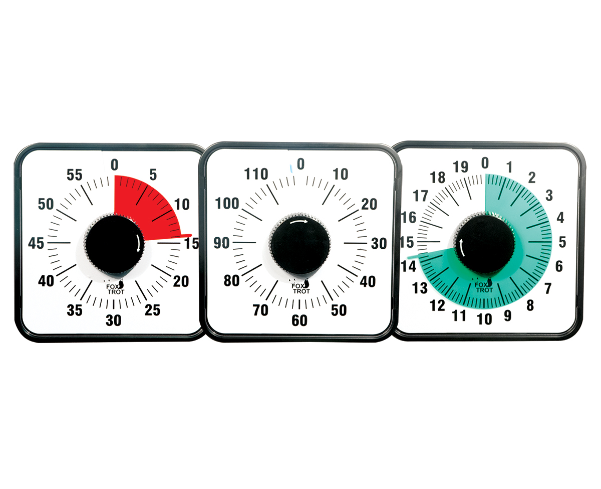 Fox Visual Timer - 3 Pack