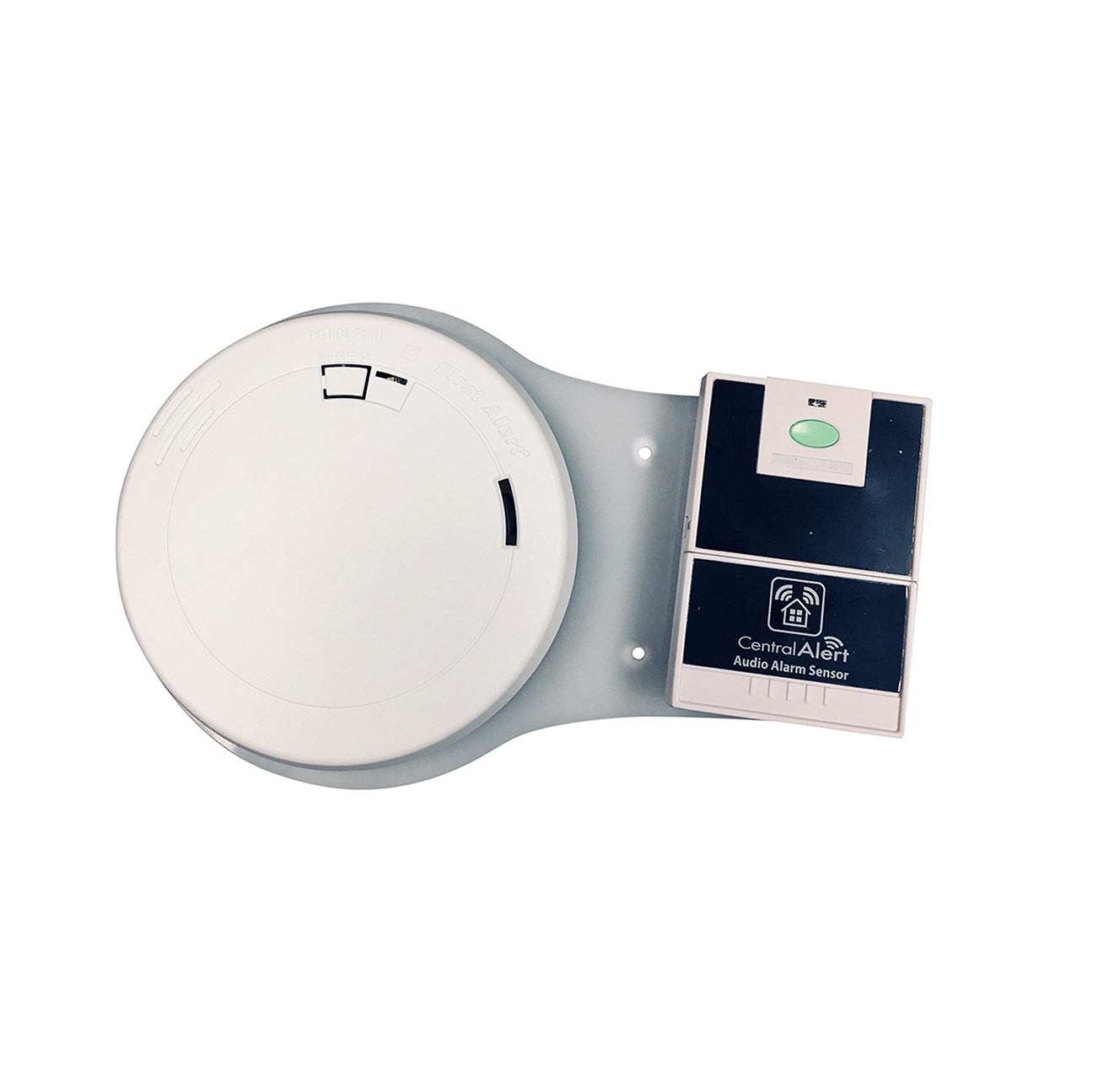 Serene Smoke Detector with Wireless Transmitter