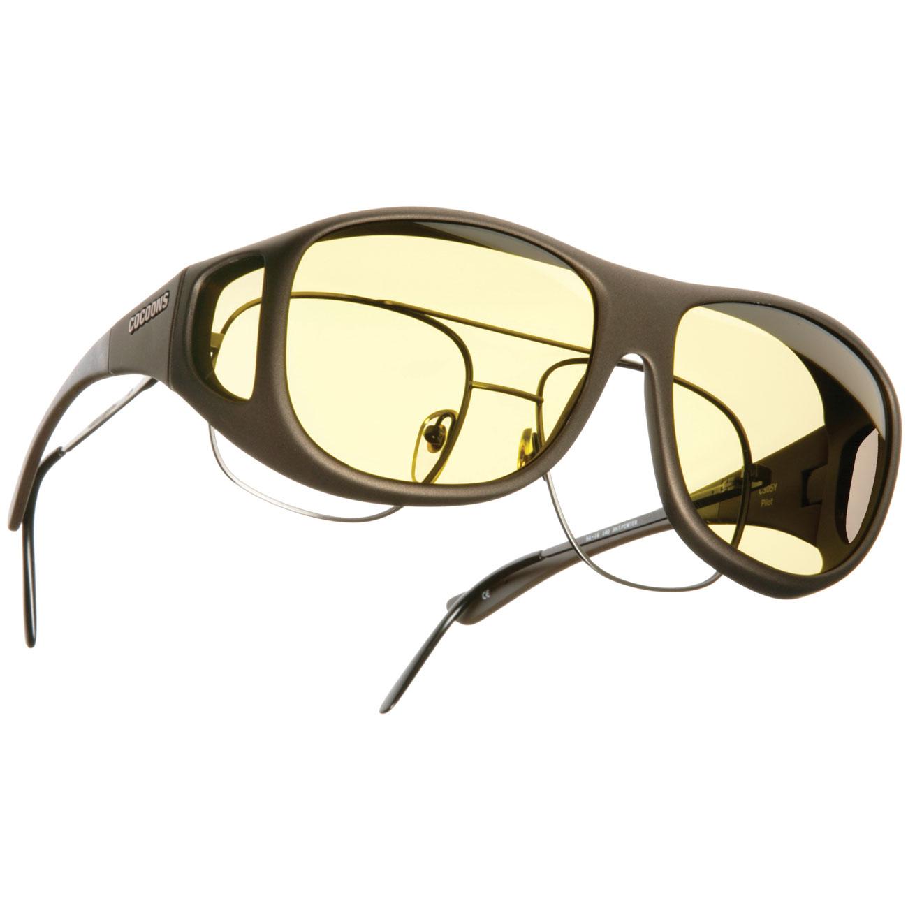 Cocoons Blue Light Computer Eyewear- Pilot L