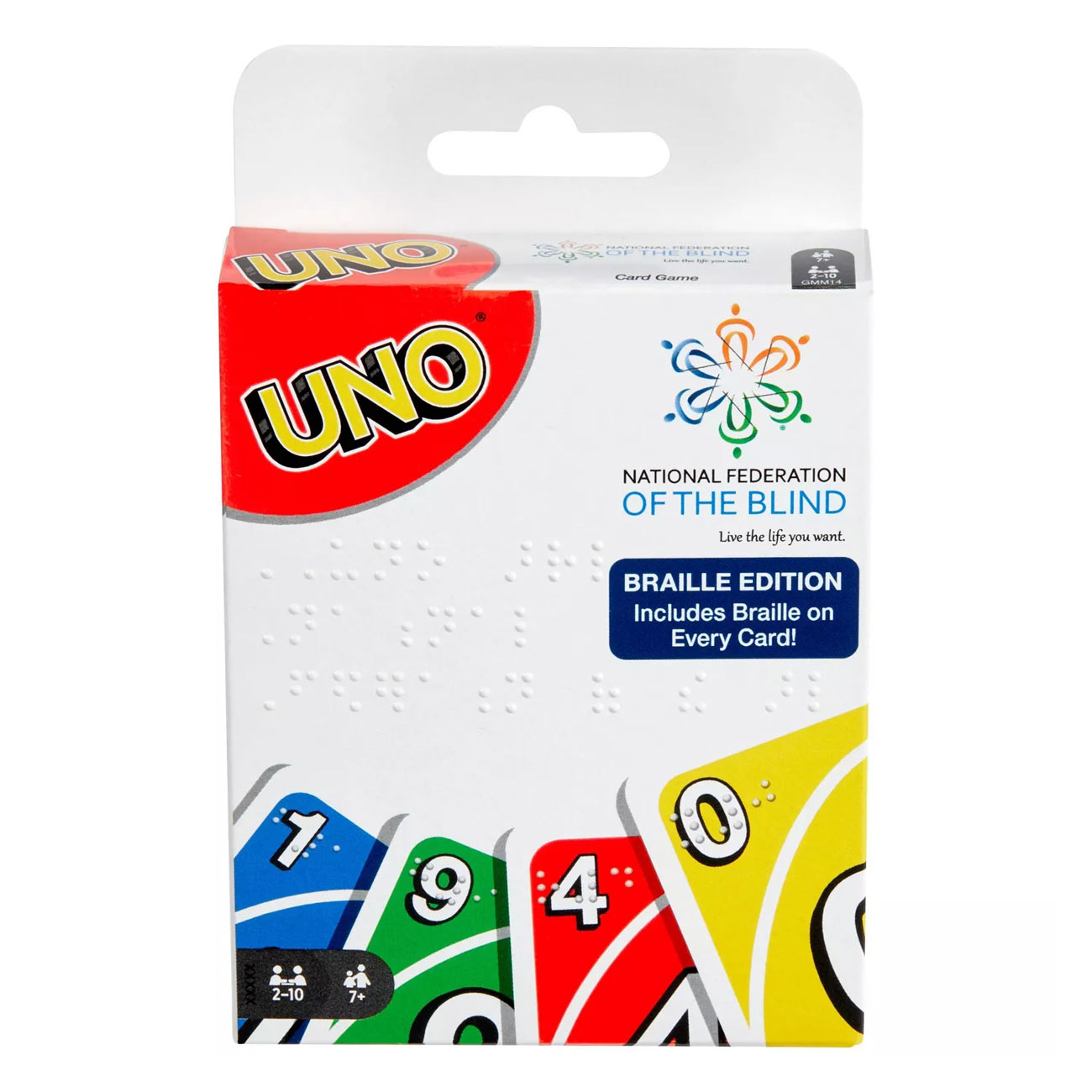 NFB Braille UNO Cards