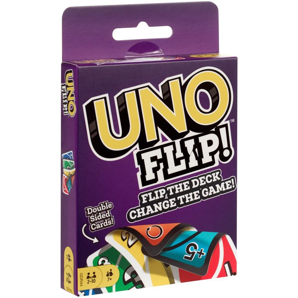 Uno Flip Braille Double Sided Cards