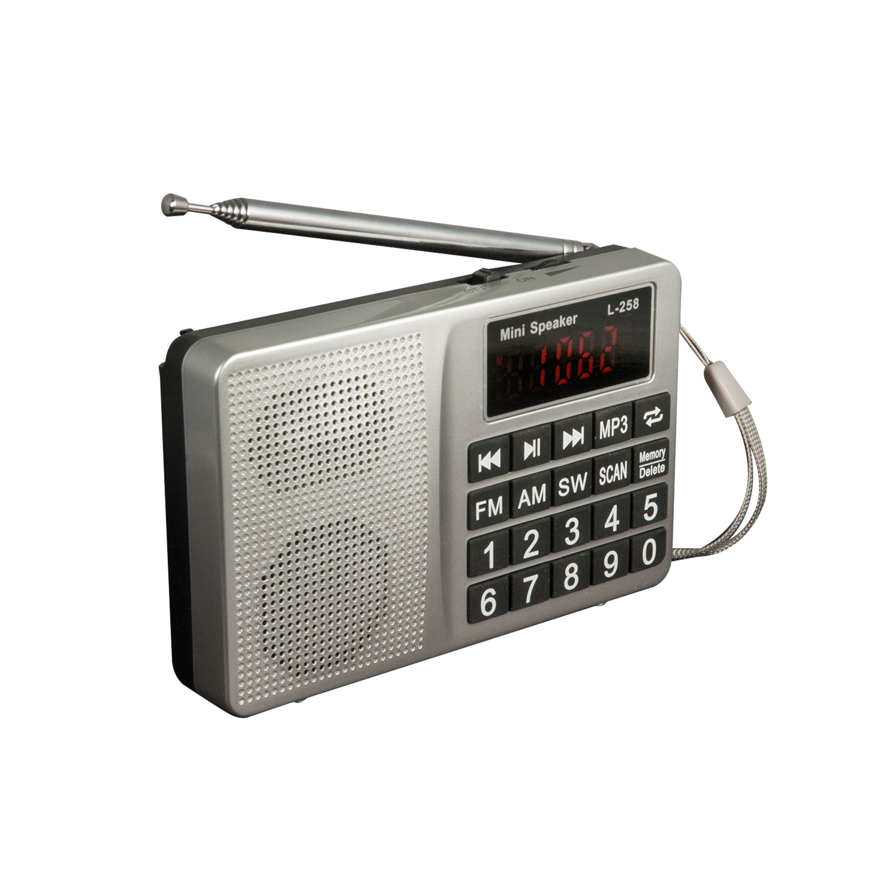 EZ FM AM SW Multiband Radio MP3 Speaker