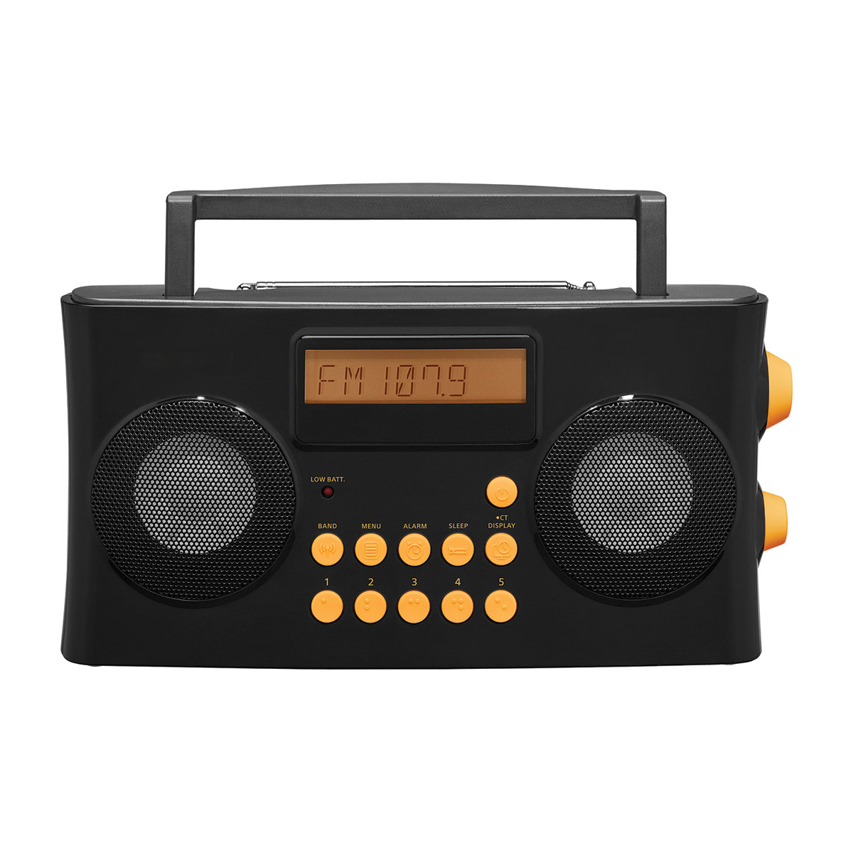 AM FM Portable Radio with Voice Prompts for Visually Impaired
