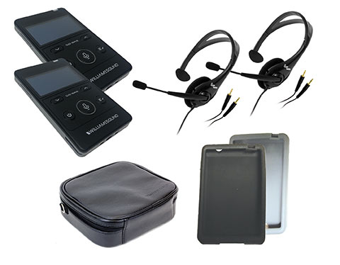Digi-Wave 400 Series Tour Guide System with battery charger