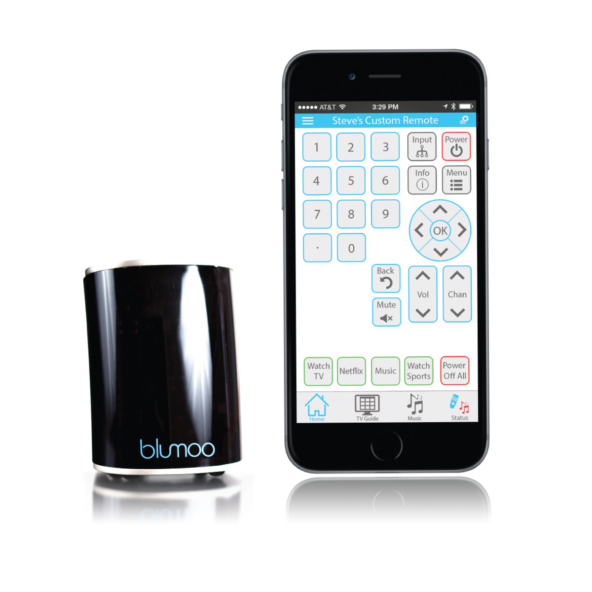 Blumoo Universal Streaming Remote