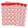 Extra Labels for Foxy Reader Talking Label Reader - Set 2 - 240 Labels