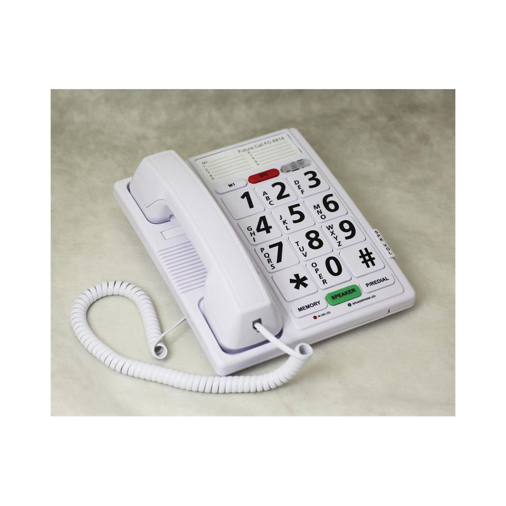 Big Button Speaker Phone with Headset Jack