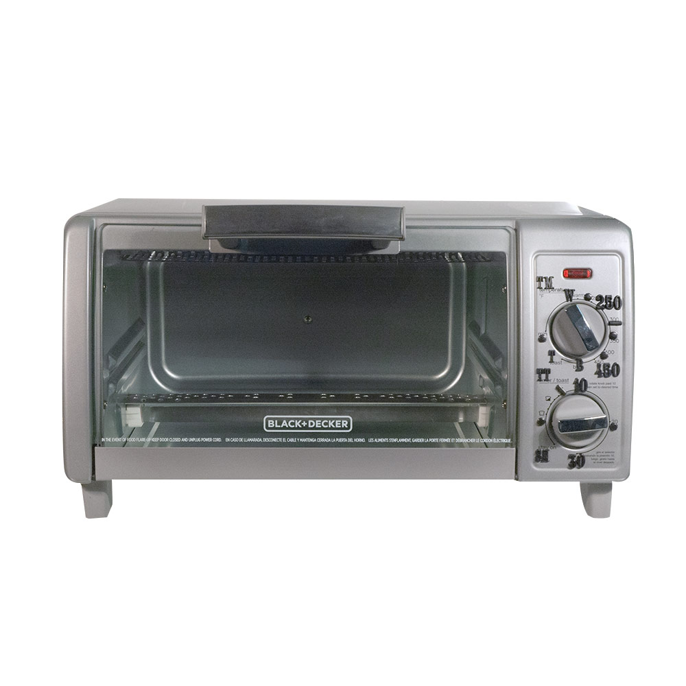 Tactile Toaster Oven Broiler - Gray Front with Mocha Brown Casing