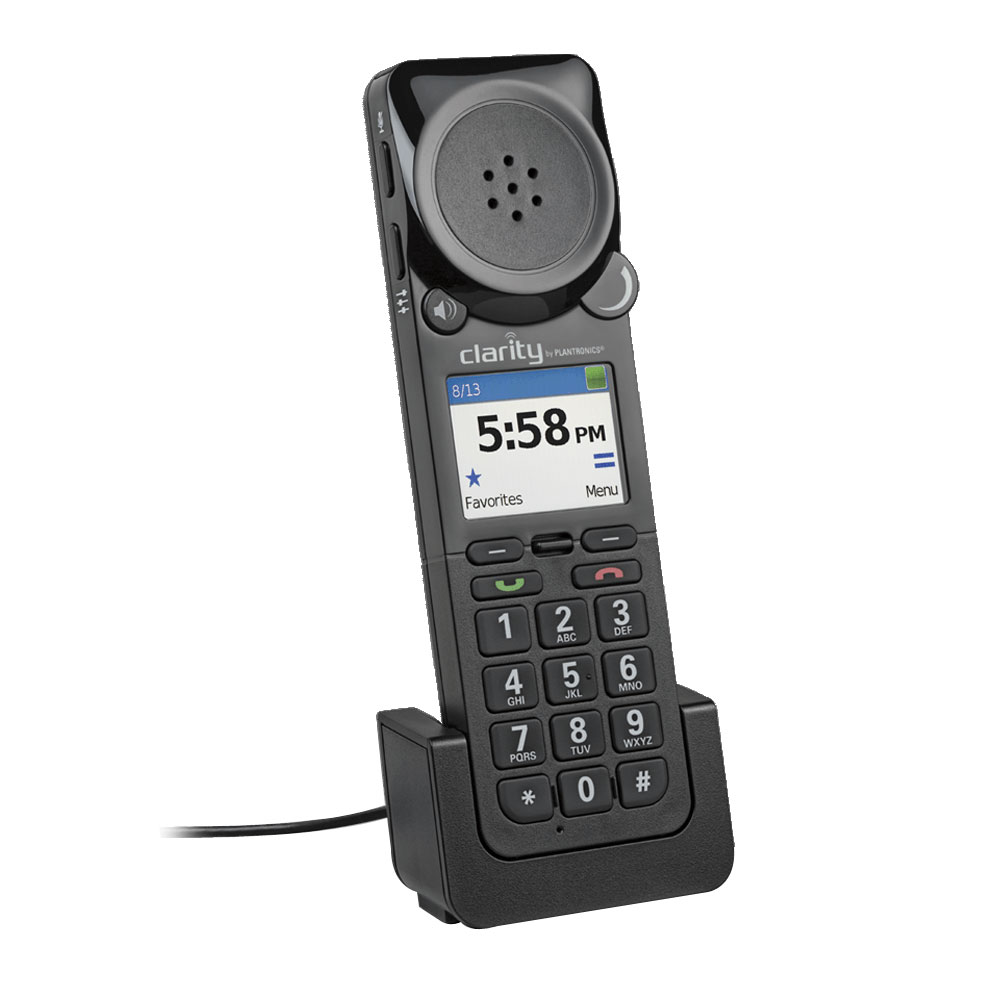 Clarity P-340 Amplified UC Corded USB Handset
