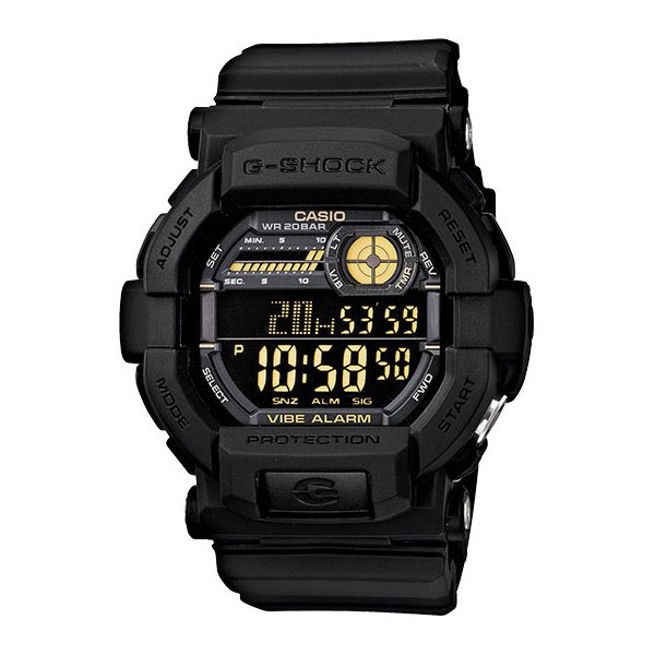 Casio Vibration Watch - Black+Yellow