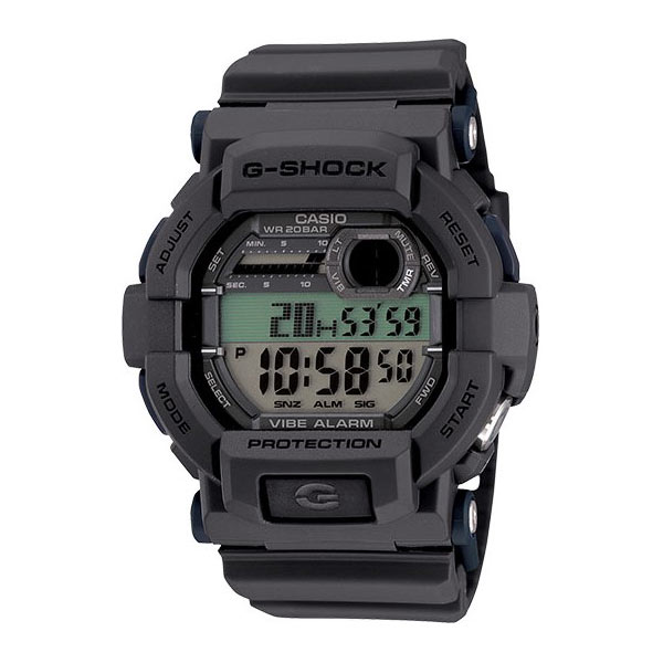 Casio Vibration Watch- Black+Grey