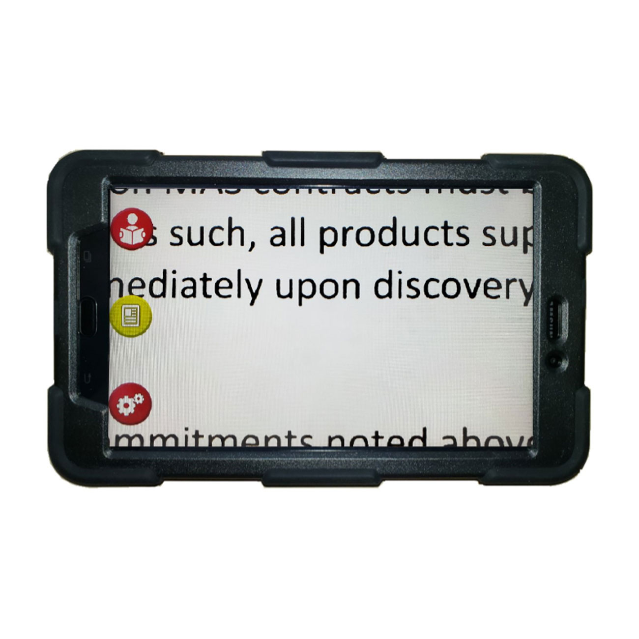 Mercury 8 Handheld Magnifier with Speech