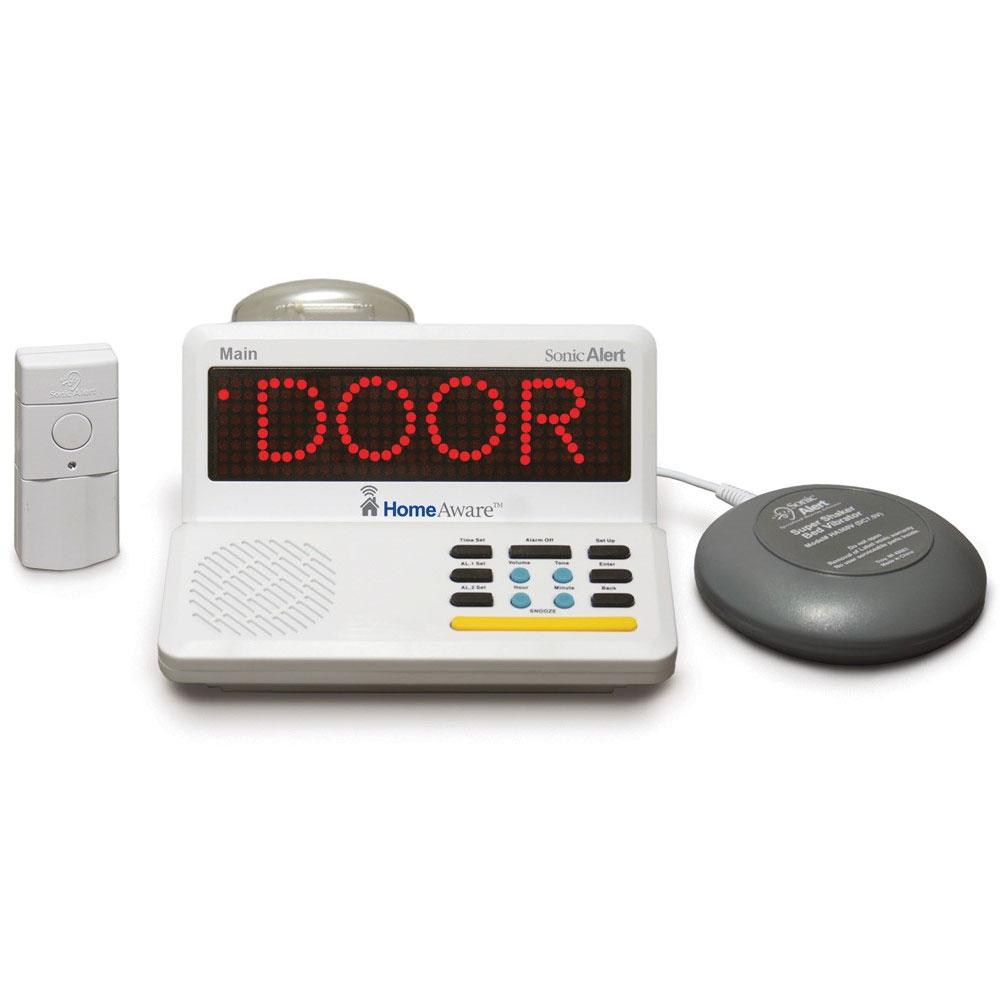 Sonic Alert HomeAware Home Alert System Master Kit