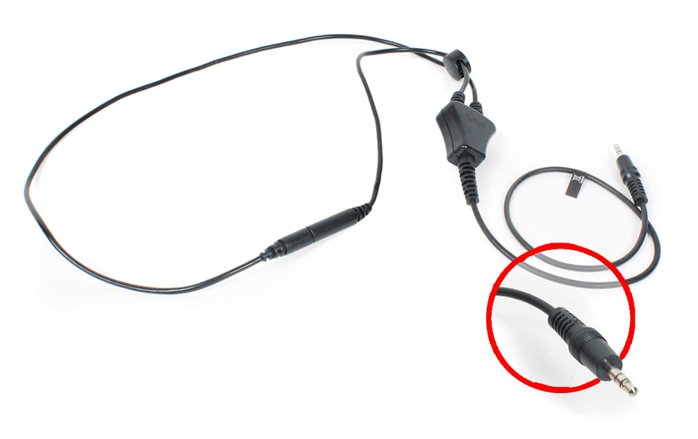 NKL Safety Break Image Stereo Neckloop- 18 inches