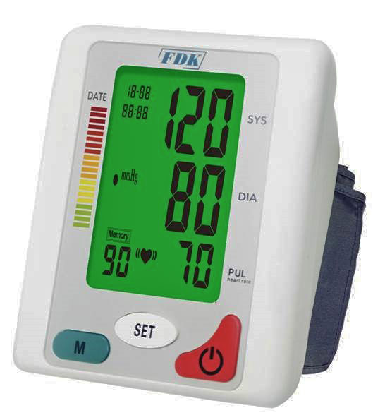 Speaking Blood Pressure Monitor - English and Spanish