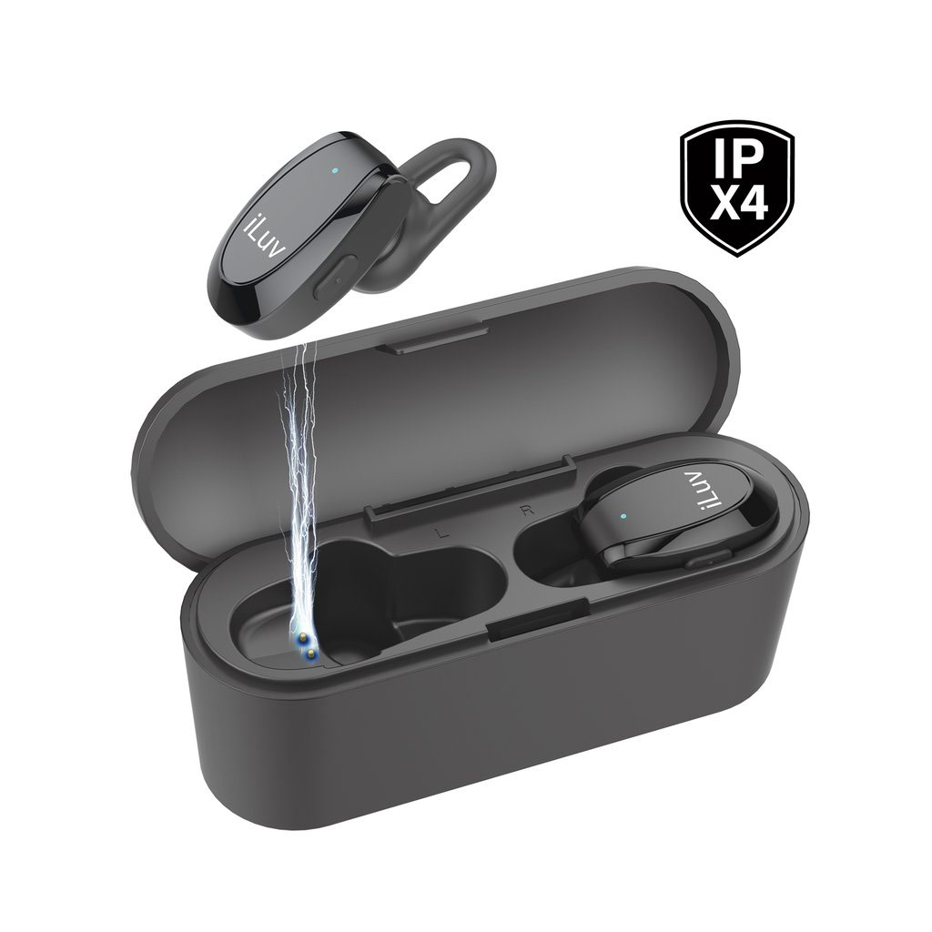 TrueBTAir Wireless In-Ear Fitness Earbuds with Charging Case