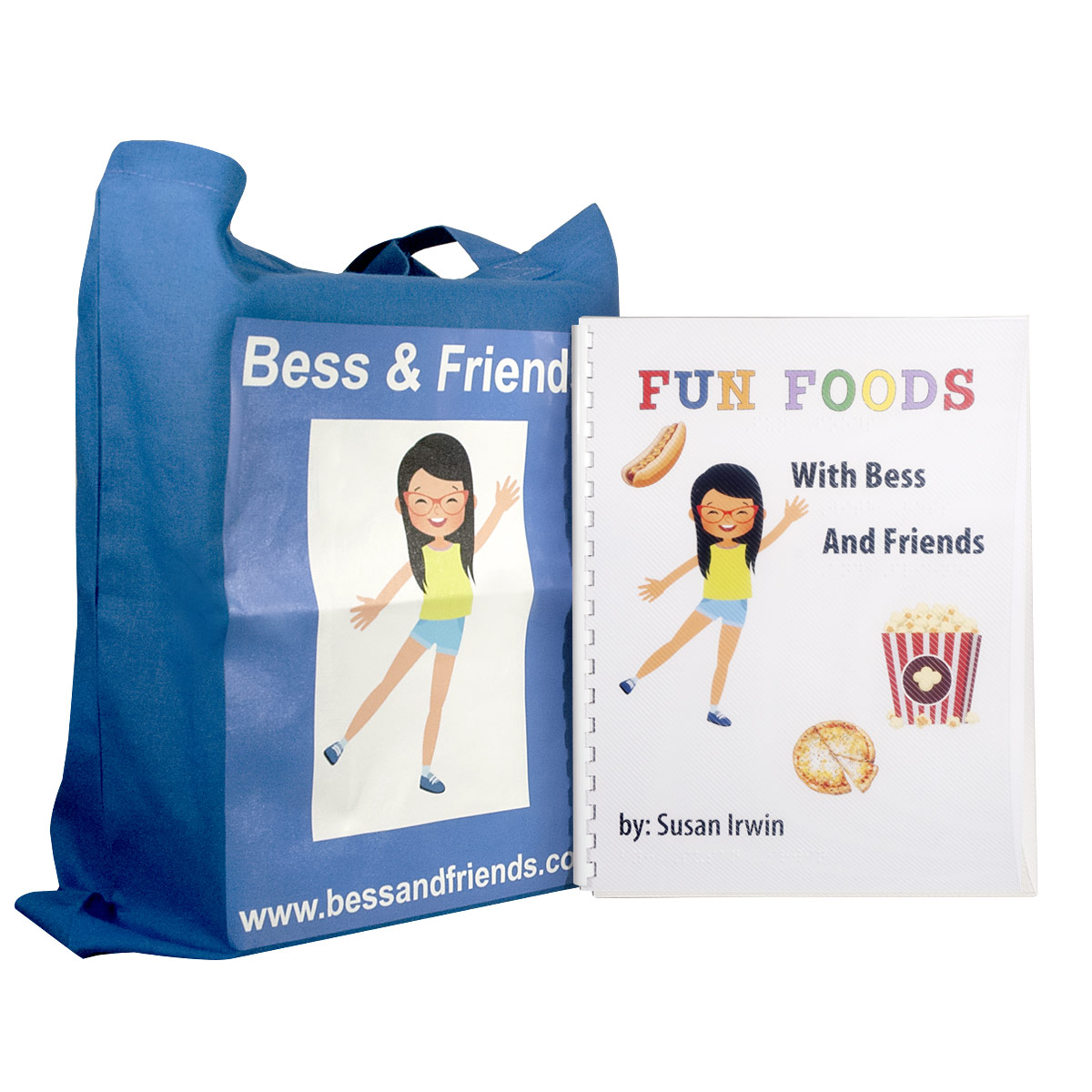 Fun Foods Braille and Scented Book